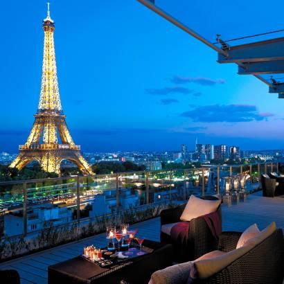 Фотообои Вечер в Париже | арт.11475