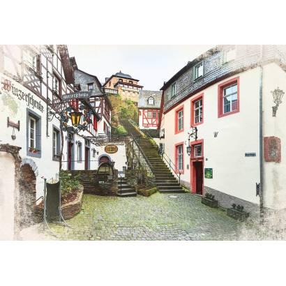 Фотообои Старинные улицы в Германии | арт.11476