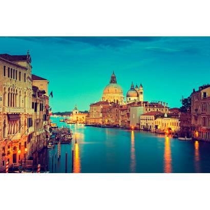 Фотообои Ночная Венеция | арт.11484