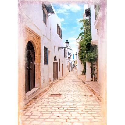 Фотообои Светлая улочка | арт.11485