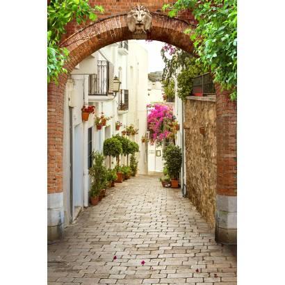 Фотообои Улочка с аркой | арт.11487
