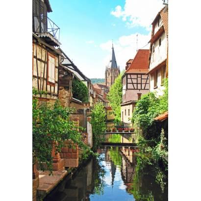Фотообои Канал в европейском городке | арт.11501