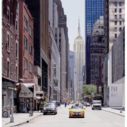 Фотообои Улица Нью-Йорка | арт.11510