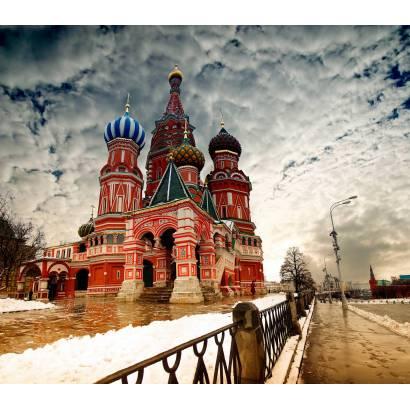 Фотообои Храм Василия Блаженного | арт.12102