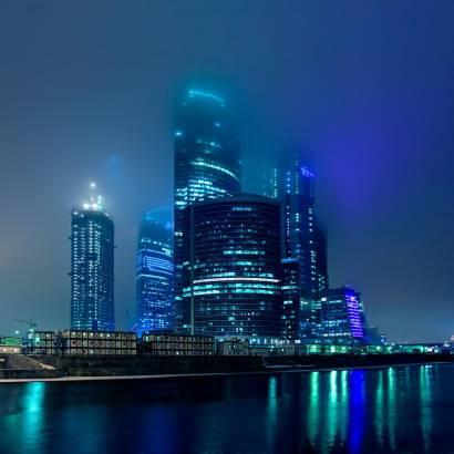 Фотообои Москва-Сити | арт.12103