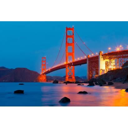 Фотообои Мост Золотые Ворота | арт.12254