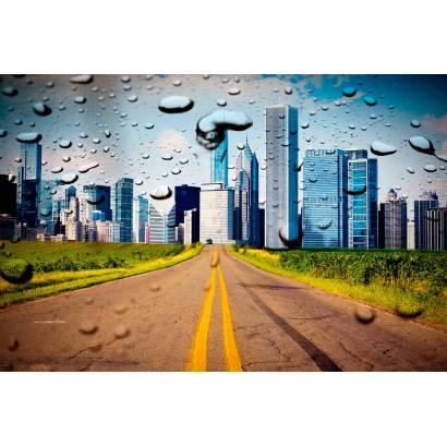 Фотообои Дорога В Город | арт.12261