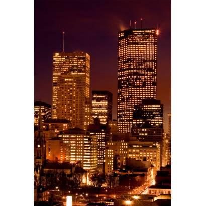 Фотообои Мегаполис ночью | арт.12294