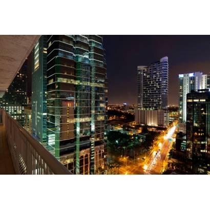 Фотообои Ночной город | арт.12304