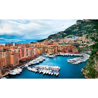 Фотообои Бухта в Монако | арт.12315