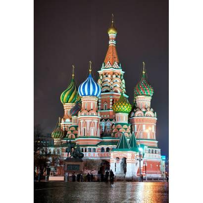Фотообои Собор Василия Блаженного | арт.1234
