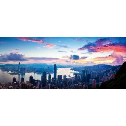 Фотообои Закат над городом | арт.12392