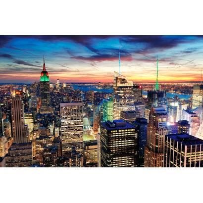 Фотообои Закат над городом | арт.12395