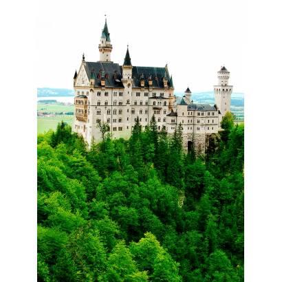 Фотообои Сказочный замок Нойшванштайн | арт.124