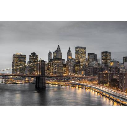 Фотообои Огни большого города | арт.12404