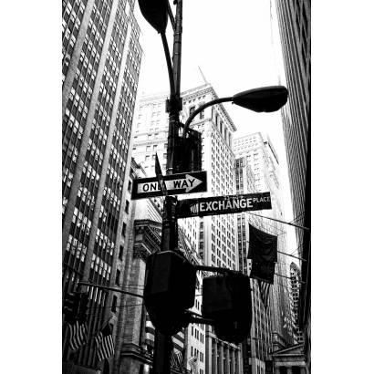 Фотообои Дорожные знаки Нью-Йорка | арт.12414
