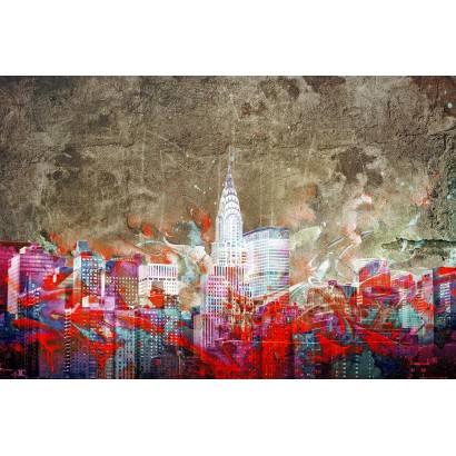 Фотообои Граффити. Нью-Йорк | арт.12416