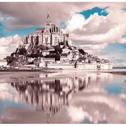 Фотообои Замок и его отражение в воде | арт.12420