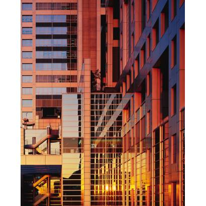 Фотообои Урбанистичные здания в цвете | арт.12433