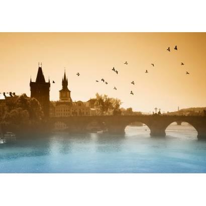 Фотообои Туман над Прагой | арт.12441