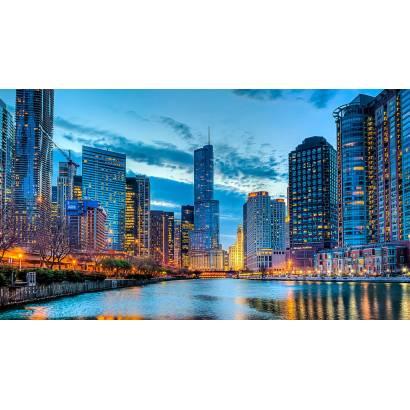 Фотообои Чикаго | арт.12450