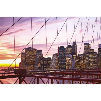 Фотообои Вид с моста на закат | арт.12456