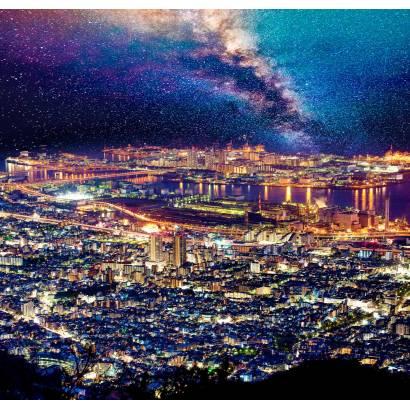Фотообои Мегаполис под звездным небом | арт.12458