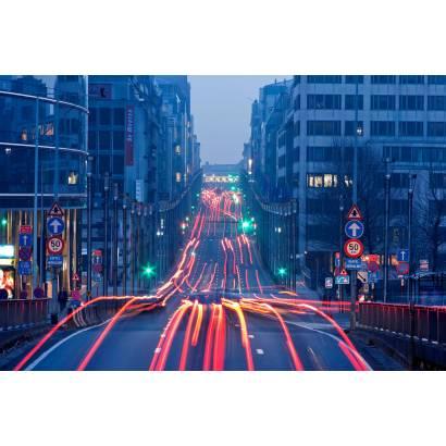 Фотообои Вечерняя улица | арт.12459