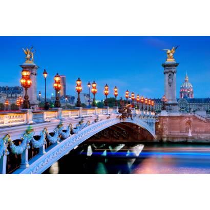 Фотообои Мост в Париже | арт.12461