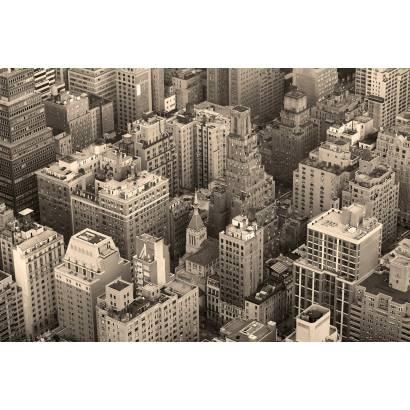 Фотообои Сепия Нью-Йорк | арт.12471