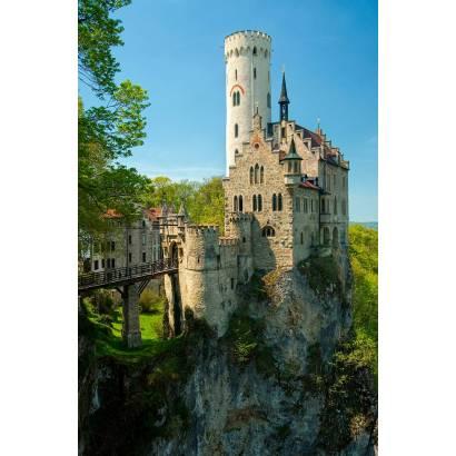 Фотообои Силуэт замка Лихтенштейн | арт.126