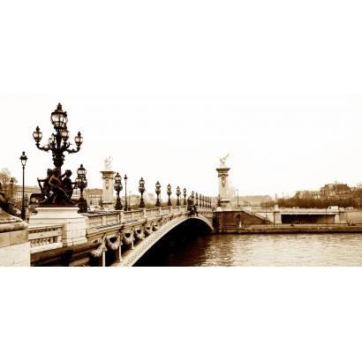 Фотообои Мост Александра 3 | арт.1281