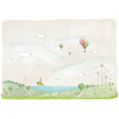 Фотообои Воздушные шары | арт.14114
