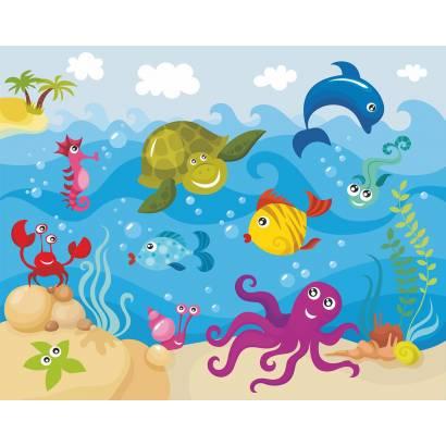 Фотообои Подводный мир | арт.14129