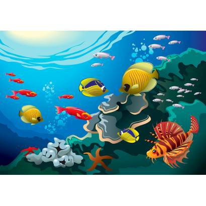 Фотообои Подводный мир | арт.14161