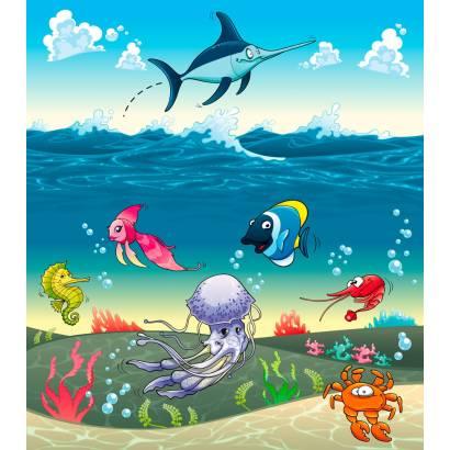 Фотообои Подводный мир | арт.14170
