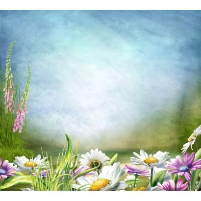 Фотообои Сказочные цветы | арт.14226