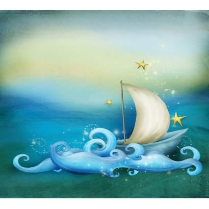 Фотообои Корабль в море | арт.14227