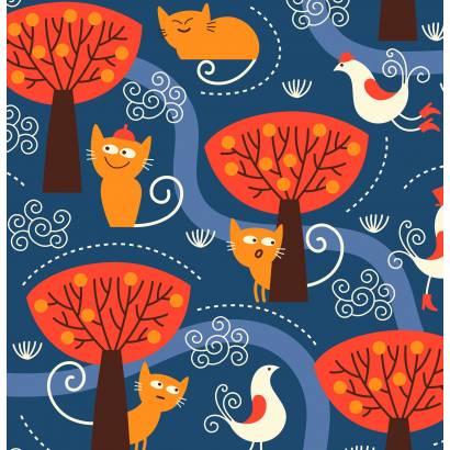 Фотообои Озорной котенок | арт.14241
