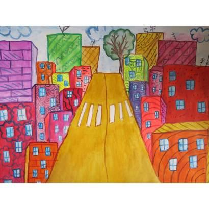 Фотообои Детский город | арт.14267