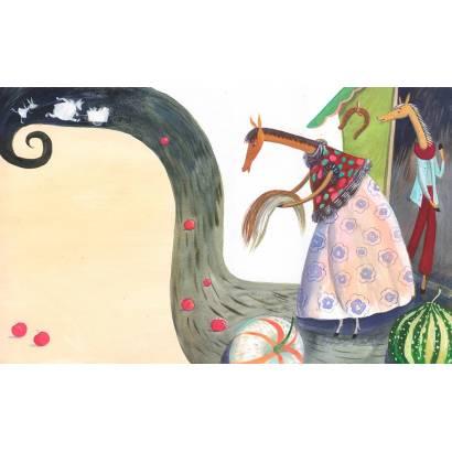 Фотообои Необычные лошадки | арт.14275