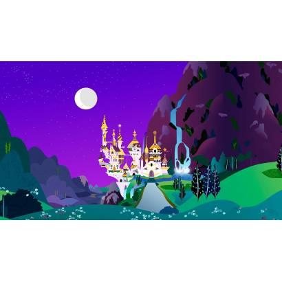 Фотообои Замок под луной | арт.14287
