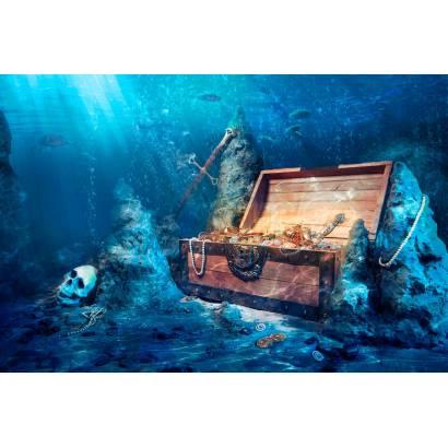 Фотообои Сундук с сокровищами | арт.14289