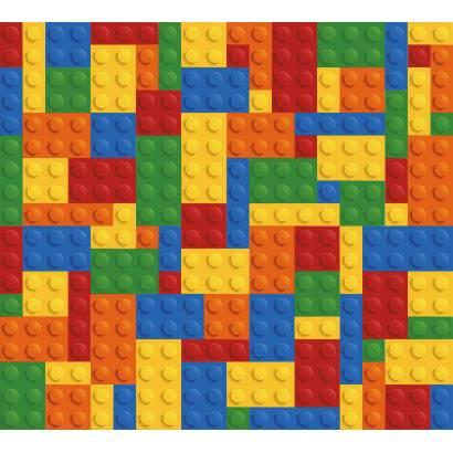 Фотообои Стена из Lego | арт.14310