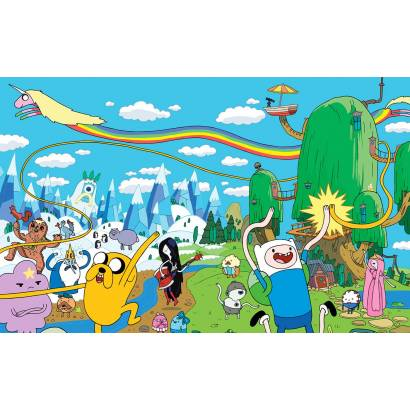 Фотообои Герои Adventure time | арт.14326