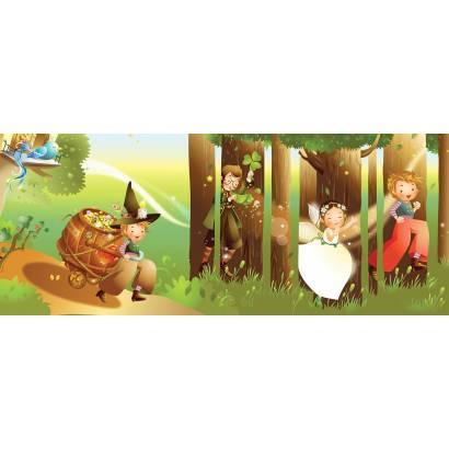Фотообои Волшебный лес. Панорама | арт.14353