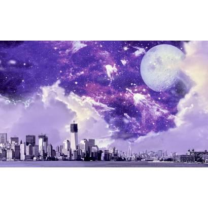 Фотообои Город под звездами | арт.14361