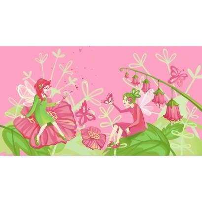 Фотообои Феи в цветах | арт.14365