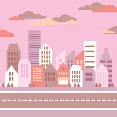 Фотообои Современный город | арт.14371