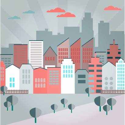 Фотообои Современный город | арт.14372